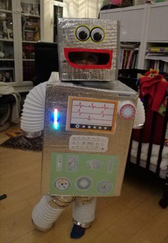 I mit objektive synspunkt, er det dæleme den sejeste hjemmelavede robot