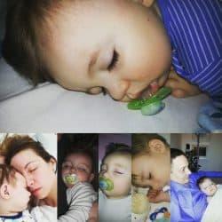 Sovende børn - er der noget smukkere?