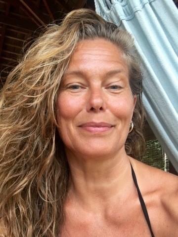 En dejlig filterfri Renée Toft Simonsen (Privatfoto)
