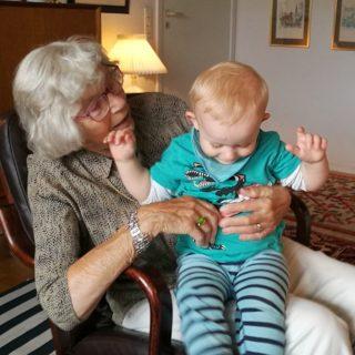 Oldemor er lig med kærlighed