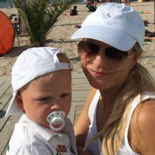 Advokat, partner, samlevende og mor til 2. Mød Eva Persson Privatfoto)