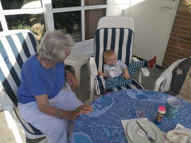 Oldemor på 94