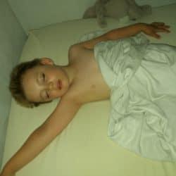 sovende børn