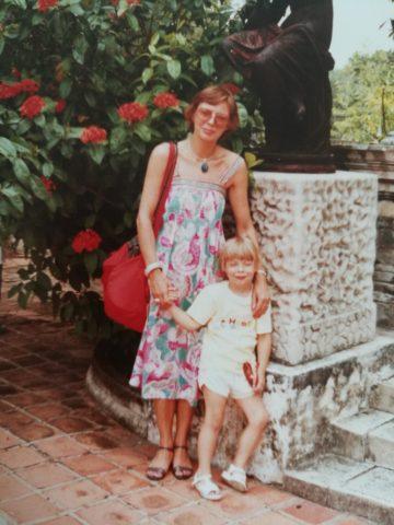 mig og min mor